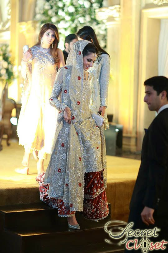 shehrbano_taseer_wedding_feb_2015. Dress by Bunto Kazmi