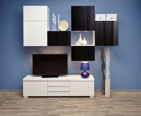 Модульные и корпусные стенки для гостиной Икеа: фото и цены, каталог