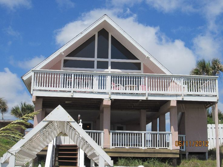 Vilano Beach House Rentals Part - 15: Vilano Beach House Rental: Beach Bums Ocean Front Dream Home ~ New Photos    HomeAway