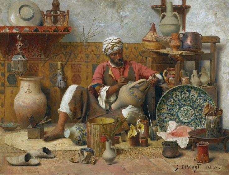 Jean Discart - L'Atelier de Poterie, Tanger