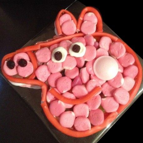 Peppa Pig Sweet cakes available in various sizes, all handmade to order, entirely sweets