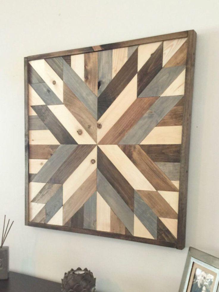 Verkauf Zuruckgefordert Holzwand Kunst Moderne Wand Von Northernoaksdecorco Holzwand Kunst Moder Scheunenholz Dekor Rustikale Holzwande Rustikale Wandkunst