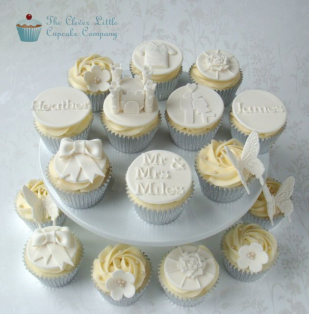 Wedding Cupcake Decorating Ideas: 361 Best Beautiful Wedding Cupcake Ideas Images On Pinterest
