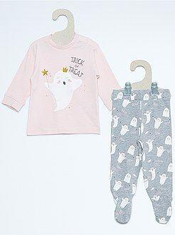 Fille 0-36 mois Pyjama 2 pièces imprimé Haloween  - Kiabi