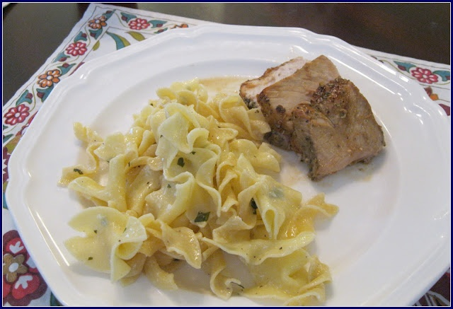 Dinner Tonight: Herb Roasted Pork Loin (recipe from @Budget Bytes)