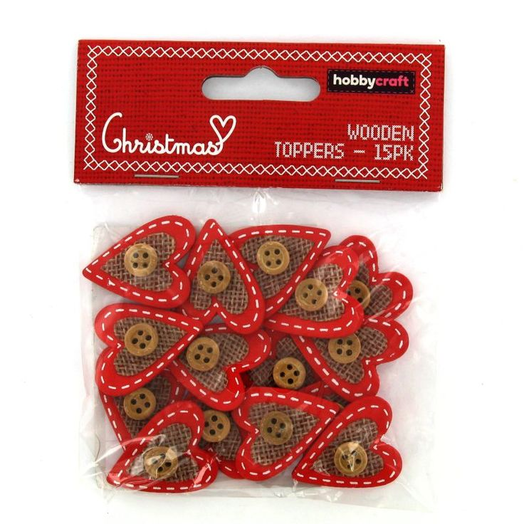 9 best crackers images on pinterest christmas cookies christmas hobbycraft christmas wood jute heart toppers 15 pieces hobbycraft solutioingenieria Choice Image