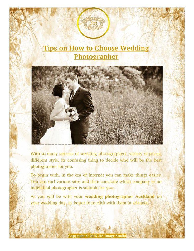 How to Choose #Wedding #Photographer