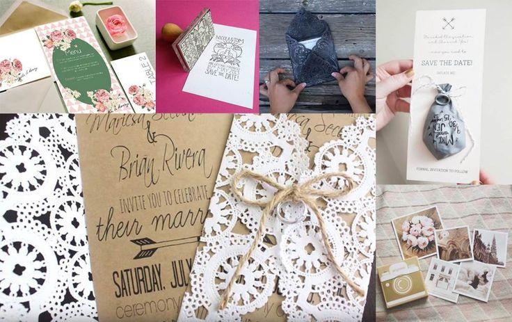 DIY: 7 idéer til bryllupsinvitationer du selv kan lave