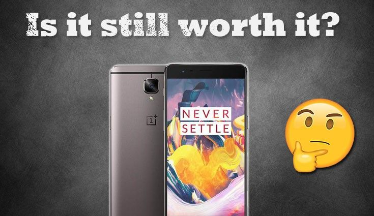 OnePlus 3T at Rs 25,999 - is it still worth it?  By: Nirupam Manik, The Mobile Indian, New Delhi Last updated : September 06, 2017 10:09 am     OnePlus 3T was one of the best smartphones of 2016 and with a temporary price cut, is it a good buy in 2017? With OnePlus celebrating its 1000 days in India, OnePlus 3T is currently available for Rs 25,999 which is Rs 4,000 less than its original price of Rs 29,999. Further, you can also avail Rs 2000 cash back on Amazon India via Axis Bank debit and…