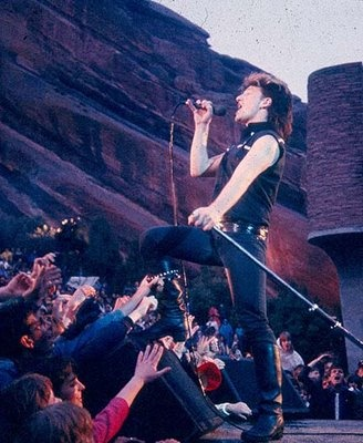 U2 at Red Rocks - 1983 seeing this changed my life.  Watching MTV, boom I was hooked!!