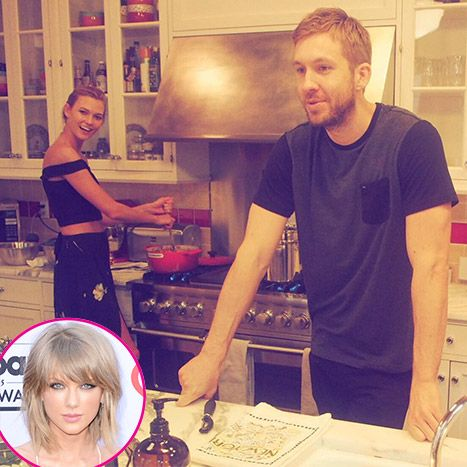 Taylor Swift Wishes Karlie Kloss Happy Birthday With Calvin Harris Pic - Us Weekly