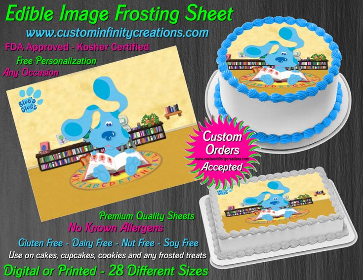 29+ Blues clues cake template ideas in 2021