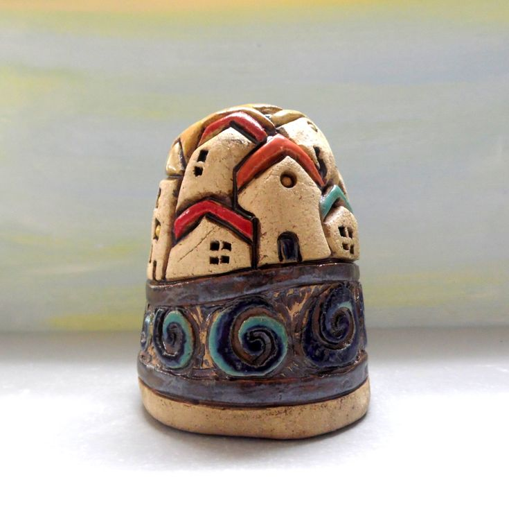 Jerusalem art, Ceramic sculpture, Urban art, Ceramics and pottery, Rustic home decor, Mountain art, Gift for man, Office decor, Gift for her by ednapio on Etsy