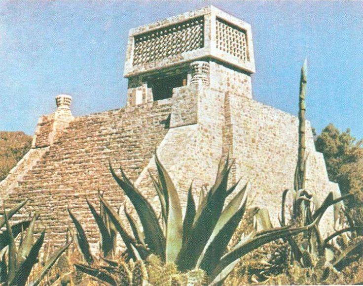 Ацтекская пирамида с храмом. Санта-Сесилия. XII-XV вв. н.э.