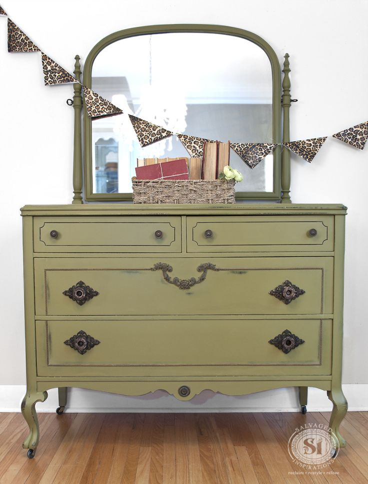 Antique Dresser   Holy Guacamole Dixie Belle Paints. Denise Lined The  Drawers With The Same