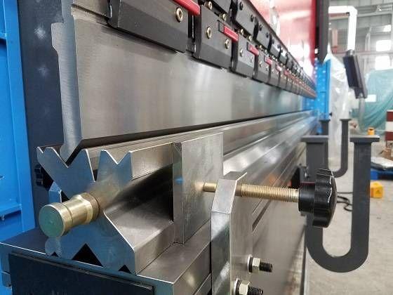 Wc67k Cnc Hydraulic Sheet Metal Press Brake Bender Machine With Da41s System 4 Sheet Metal Fabrication Press Brake Metal Sheet