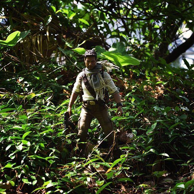 キャプション→砂漠でも。森でも。彼を止めることはできない…! #uncharted3  #uncharted  #toy  #figure  #sideshow  #nate  #nathandrake  #ネイト  #ネイサンドレイク  #森  #自然  #おもちゃ  #サイドショウ  #フィギュア  #アンチャーテッド ユーザー→sirotenkuroten 場所→