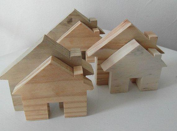 Houses - Scrap Wood