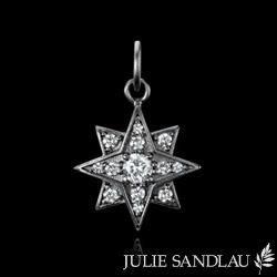 Julie Sandlau star pendant. August 2015. Gift.