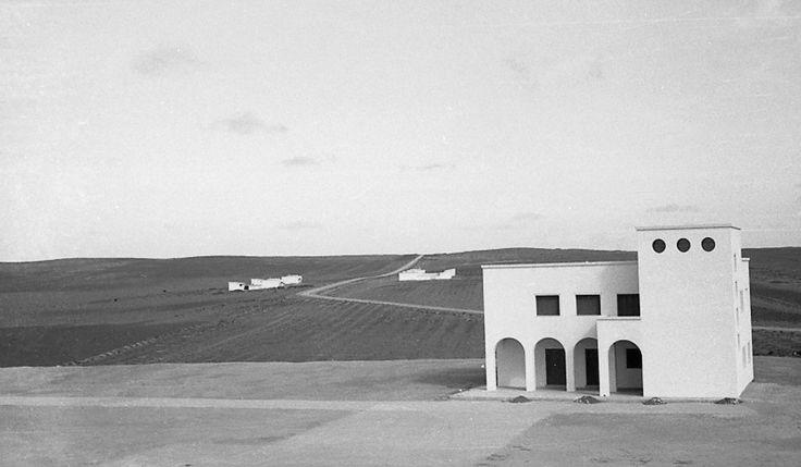 Villaggio Breviglieri, Tripolitanien (1938), Architekt: Umberto Di Segni