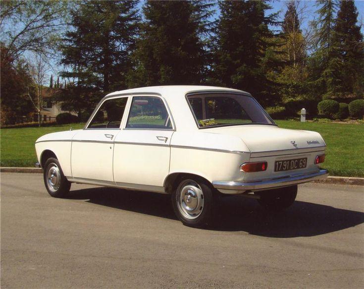 1968 PEUGEOT 204 4 DOOR SEDAN