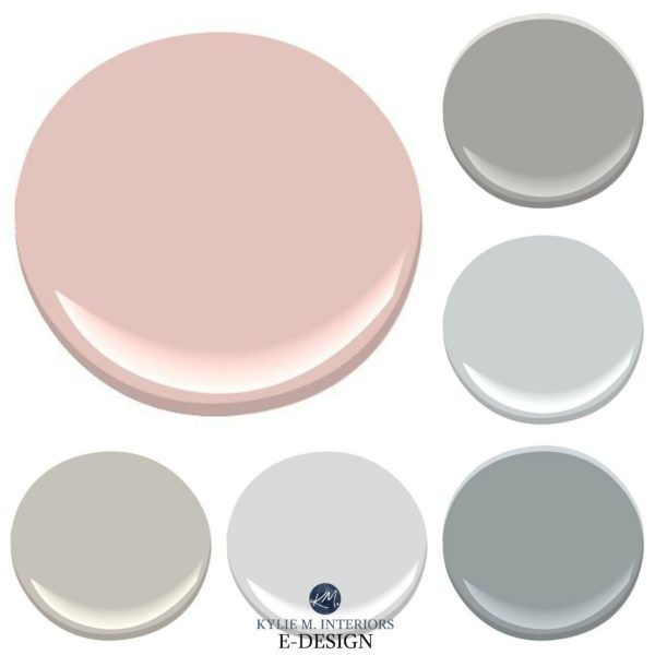 Best paint colours update pink or dusty rose bathroom ...