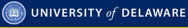 University of Delaware - Rehabilitation protocols