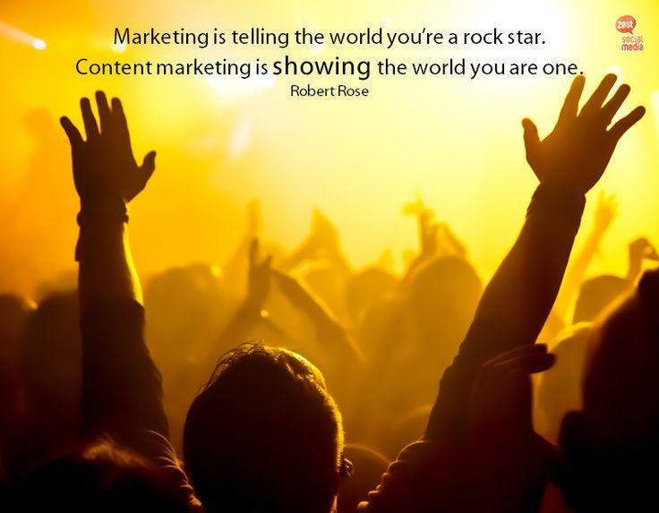 Τι αξία και χρήσιμη πληροφόρηση μπορείς να δώσεις στο κοινό σου που να κάνει την επιχείρηση σου rock star;  #marketingquotes