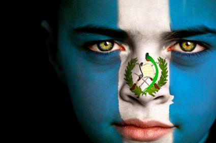 Guatemala Flag Boy Capital: Guatemala City