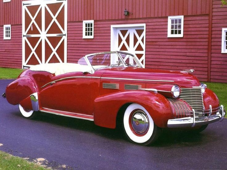 1940-Cadillac Sixty Two Custom Convertible:  At one time Cadillac made cars that everyone wanted, not just 83 year old grey-haired old ladies.