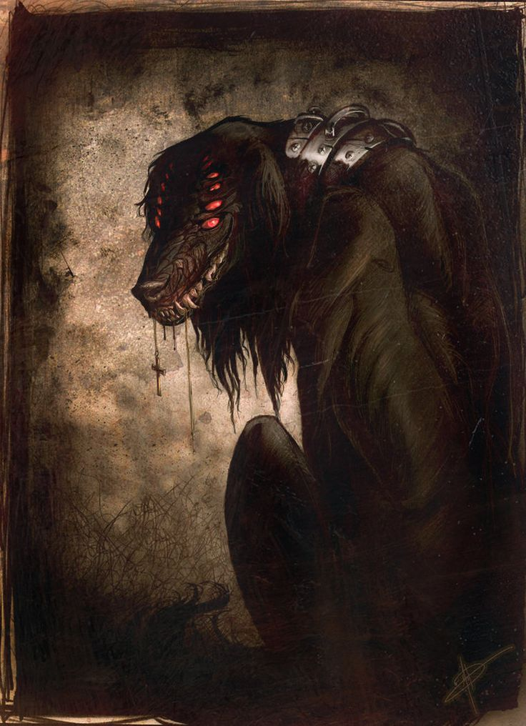 The Hellhound of Hellsing. I LOVE Pu-Sama's work
