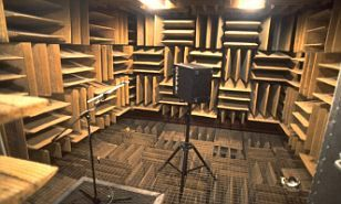 The 'anechoic chamber' at Orfield Laboratories in South Minneapolis is 99.99 per cent sound absorbent and holds the Guinness World Record for the quietest place.