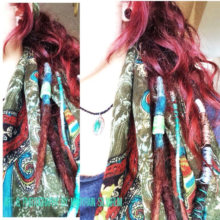 My half head dreads :) (MaryRain Silvarum on Pinterest )