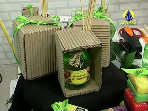 Santa Receita   Mini curso de sabonetes: embalagem para aromatizador de ambientes - 12 de Agosto - YouTube