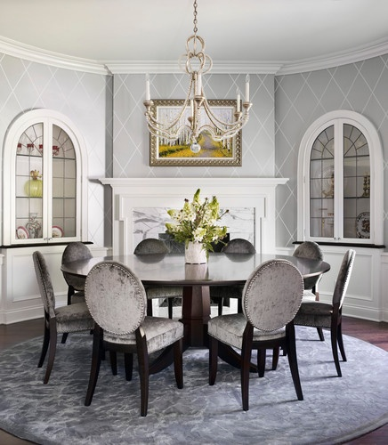 Modern Traditional Dining Room: 22 Best Images About Wallpapers On Pinterest