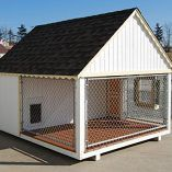 Little Cottage Company Victorian Cozy Kennel Panelized Playhouse Kit, 8′ x 10′   Dog Supplies - Warning: Save up to 87% on Dog Supplies and Dog Accessories at Our Online Pet Supply Shop