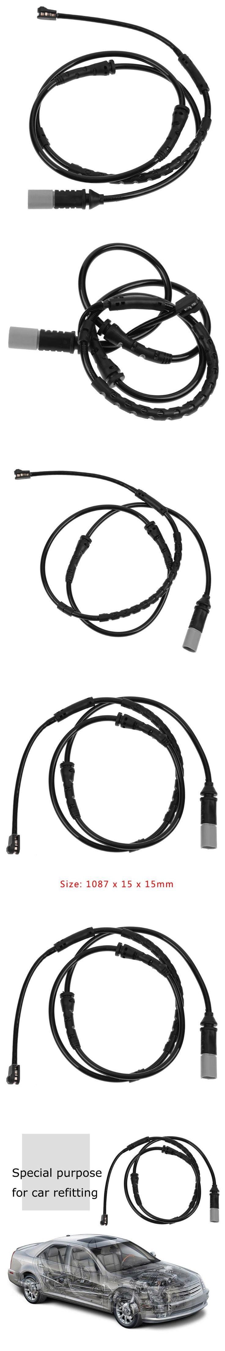 1Pcs Front Brake Pad Wear Sensor for BMW F07 535i 535iX F10 528i 34356791958 Auto Car Brake Systems Brake Wear Sensor Alarm New