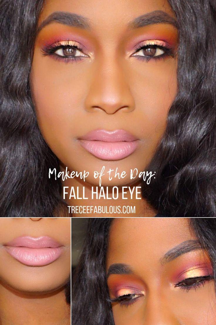 Treceefabulous Fall Halo eye Makeup look Fall makeup
