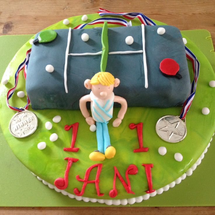 Cake Boss Decorating Table : 1000+ images about Table Tennis ~ Cakes on Pinterest ...