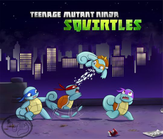 THIS IS SO CUTE! Amazing | Pokémon & Teenage Mutant Ninja Turtles