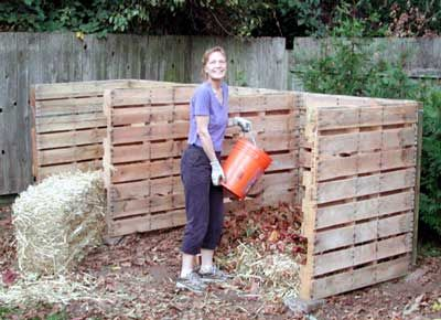 This is how my compost bins were at my last house!  They work great!