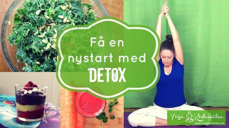 Hur kan detox få dig att må bättre?    #mediyoga #medicinskyoga #kundaliniyoga #yoga #meditation #avslappning #detox