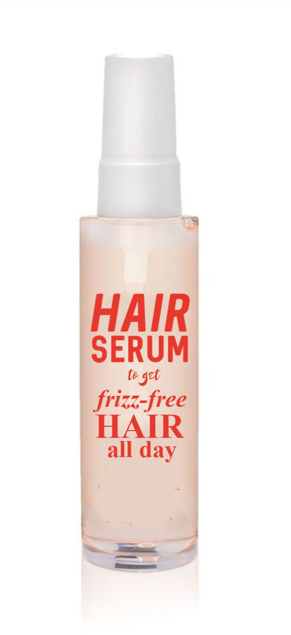 Hair serum to get frizz free hair