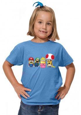 Camiseta Minions Mario