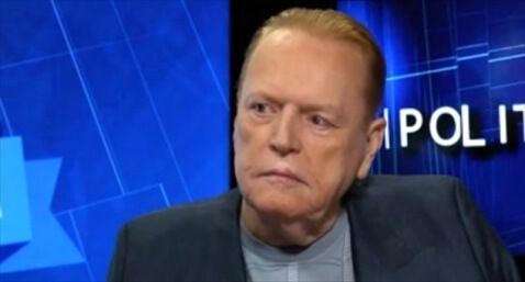 'Hustler' magazine founder Larry Flynt appears on 'PoliticKING with Larry King' on May 27, 2015. [Ora.TV]
