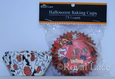 Baking Cups, Standard Muffin, Halloween, 2.5, 50/PK
