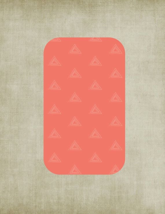 coral print crib sheet fitted coral crib sheet triangle by isewjo