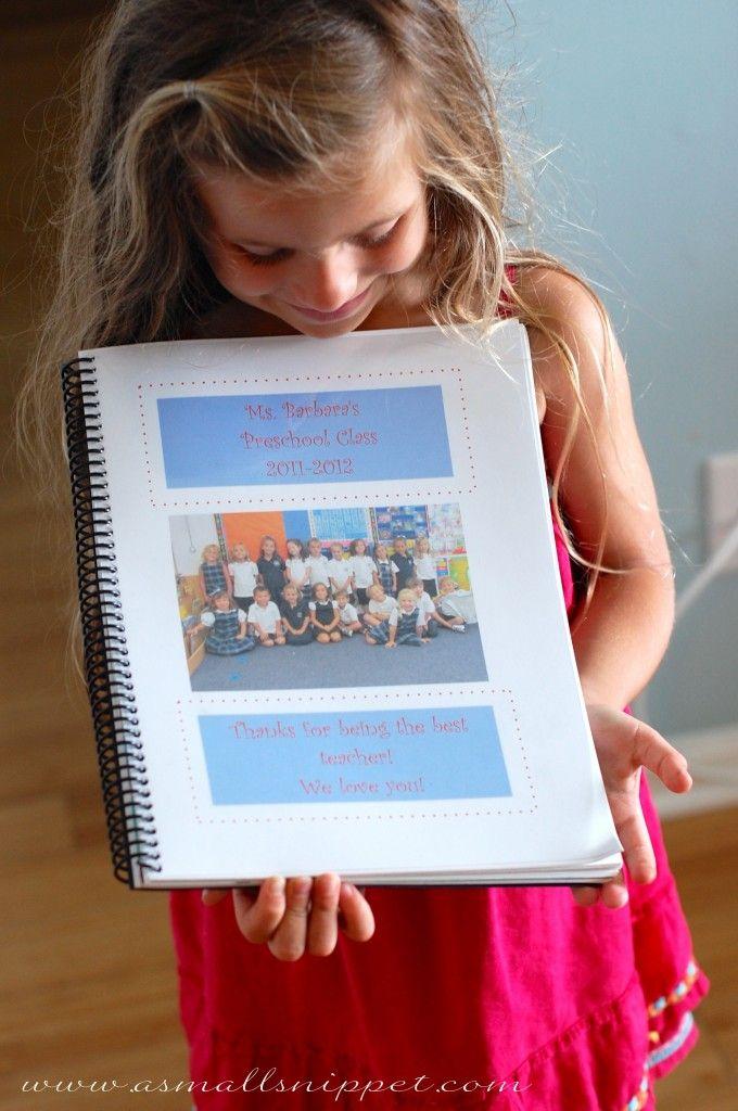 End of Year Teacher Book - Love this idea!