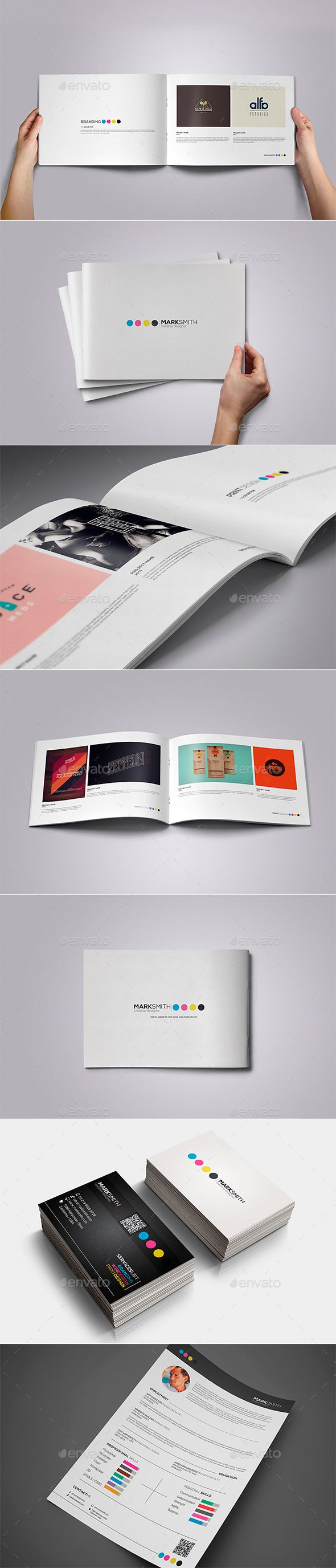 Creative Designer Set - Portfolio Brochures