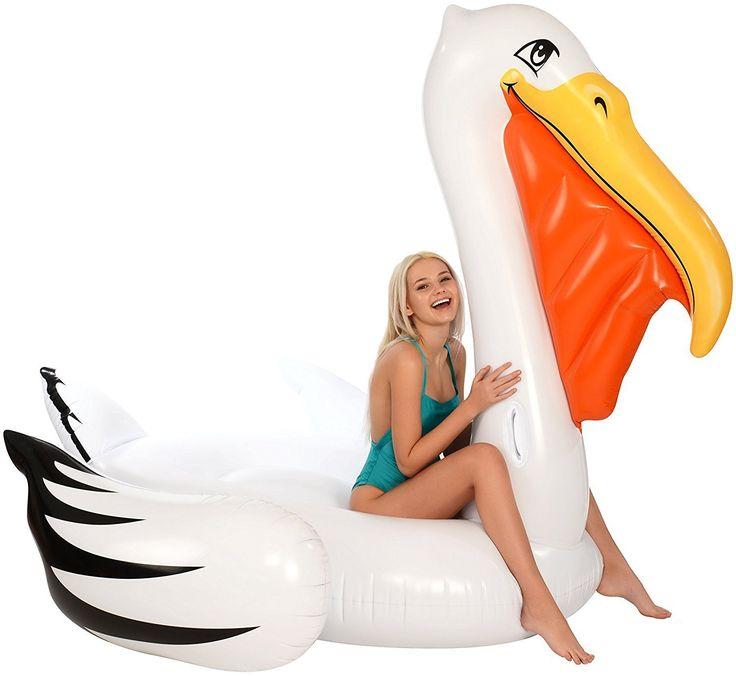 Gigantic Pelican Pool Float